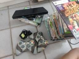 Jogos; controles e kinect do: Xbox360
