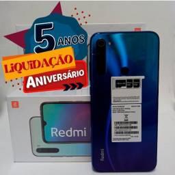 Xiaomi Note 8 64Gb Novo com NF e garantia