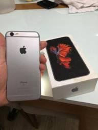 iPhone 6s 128g na caixa