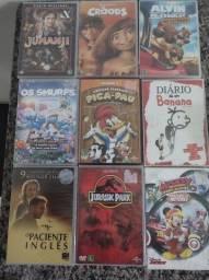 Filmes originais na embalagem