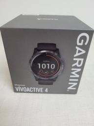 Garmin Vivoactive 4 (Na caixa / Lacrada)