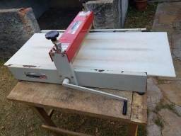 Máquina Corte Chinelo Caixa Vinco Manual 40x82cm Facmais