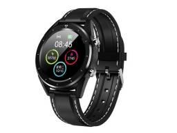 Relógio Dt28 inteligente ecg monitor de freqüência cardíaca fitness