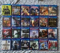 Coleção de jogos de PS4 / PlayStation 4