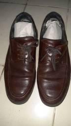Sapato couro legtimo Zapatto marrom tamanho 41 otimo estado