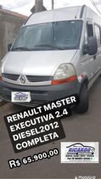 RENAULT MASTER  EXECUTIVA 2.4 DIESEL Ano 2012 COMPLETA 16 LUGARES   R$ 65.900,00
