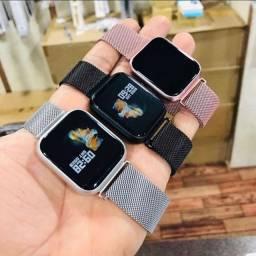 Relógio Smartwatch P70 Com Pulseira Grátis