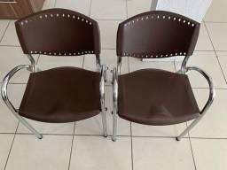 Par de Cadeiras Escritório ISO