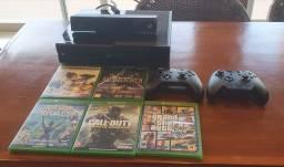 Xbox one usado na caixa