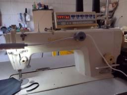Máquina de costura reta eletronica
