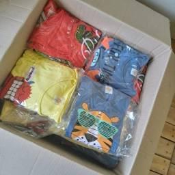 Kit 50 peças roupa menina ou menino