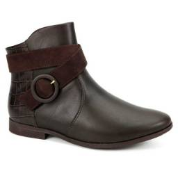 Bota Ankle Boot Feminina Comfortflex 1949301