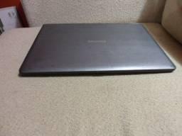 notebook positivo 4gb hd-320 dual core wi-fi hdmi bateria 4hs R$700 tratar 9- *