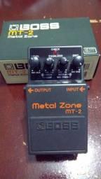 Pedal Boss Mt-2 Metal Zone Distortion para Guitarra