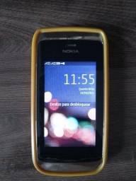 Celular Nokia Touch Screen - 2 Chips - Funcionando Perfeitamente