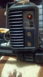 Máquina de solda bambozzi bvolt com a máscara automática