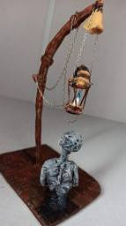 Escultura Lâmpada Bloodborne