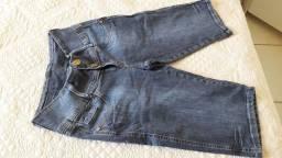 Bermuda jeans  de Strass, tamanho 42 ,nova