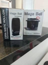 Aquecedor Cera Standard Mega Bell + Aquecedor Cera Roll