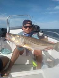 Pescaria e turismo