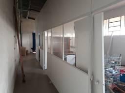Divisórias com vidros