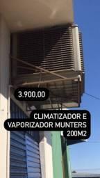 Climatizador e Vaporizador Munters 200 m2