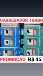 CARREGADOR TURBO ORIGINAL // ENTREGO