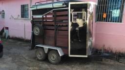 Carretinha para transporte de animais