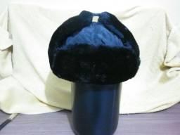 Chapéu estilo russo em lã