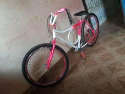 Bicicleta novinha em folha só falta você