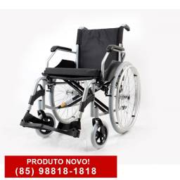 Cadeira de Rodas D600 Confortável e Resistente até 120kg *