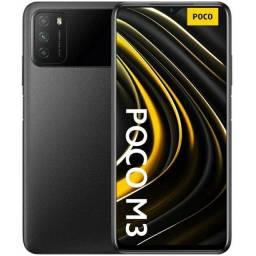 Celular Xiaomi Poco M3 128gb Preto Com 4gb Ram Versão Global Original