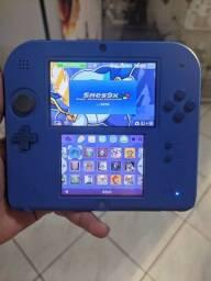 Nintendo 2 DS   com vários jogos
