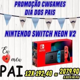 Nintendo Switch Neon V2 lacrado PROMOÇÃO