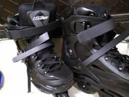 Conjunto Patins IS Urban 76mm + capacete + protetores