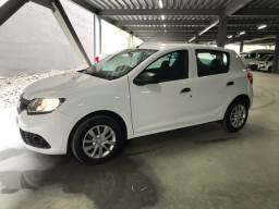 RENAULT SANDERO 1.0 AUTHENTIC FLEX 2018 COMPLETO