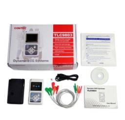 Título do anúncio: Holter 24h Contec Monitor Cardíaco Ecg 3 Canais + Software
