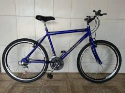 Bicicleta aro 26 nova aero azul