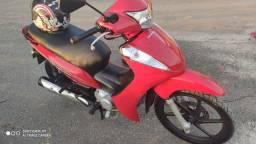 Moto Honda Biz 125 ZERRA, completa EX flex