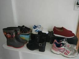 Lote de calçados (barbada)