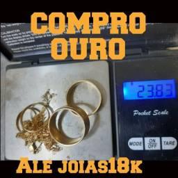 Título do anúncio: OURO OURO OURO DINHEIRO RAPIDO ALE JOIAS18K