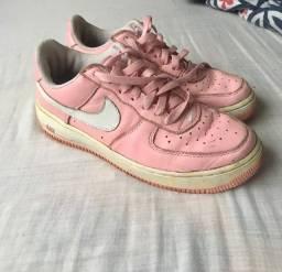 Nike Air Force Pink Mist 2005 Vintage