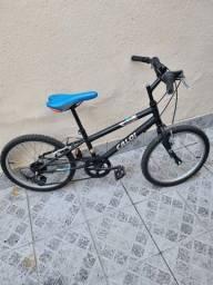 Bicicleta Caloi Hot Wheels Aro 20 com Marcha