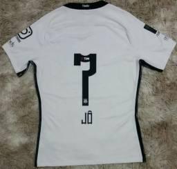 Camisa Nike Corinthians I Home 2017  7 Jô Florida Cup Jogo bf153bb2c3d13