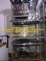 Imagem Real, Produto real! Fogão industrial 6 bocas com forno Metalmaq! 96445-1267