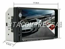 "Multimídia Mp5 7"" Pol Bluetooth ( Centro - RJ ) #Tacompressa #FelizNataL"