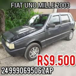 Fiat uno Mille 2003 vendo outro - 2003