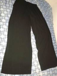 Calça pantalona tamanho M