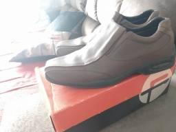 Sapato masculino marrom 41