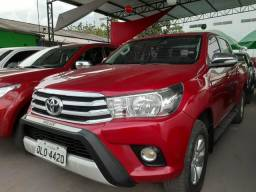 Hilux cd srv at 16/16 financia tbm - 2016